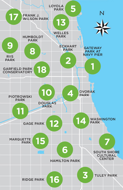 Douglas Park Chicago Map.Chicago Shakespeare Theater The Comedy Of Errors
