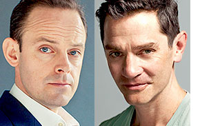 Harry Hadden-Paton and James Frain