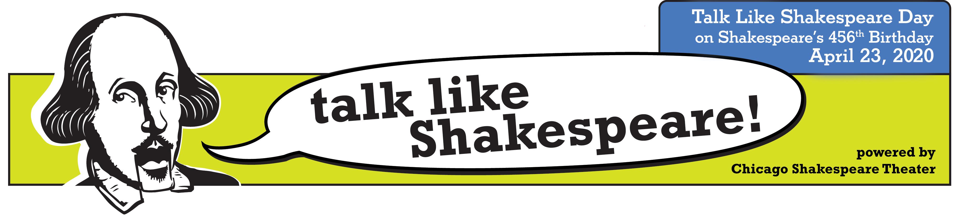 Talk Like Shakespeare - Home