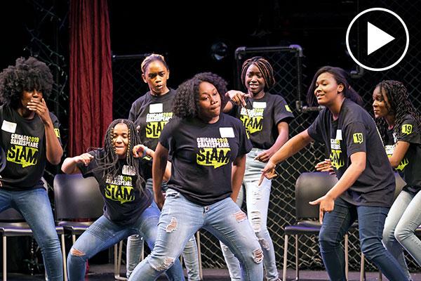Students + Shakespeare = SLAM