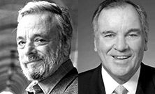 Richard M. Daley and Stephen Sondheim