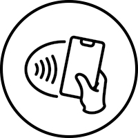 Options for touchless transactions