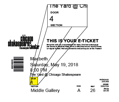 Macbeth - E-Ticket